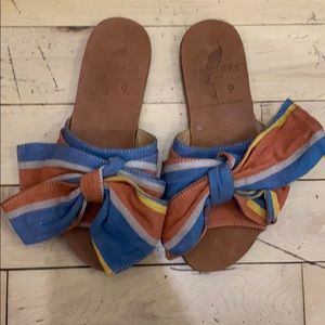 Brother Bow Sandals Sz 9 (EUR 39)